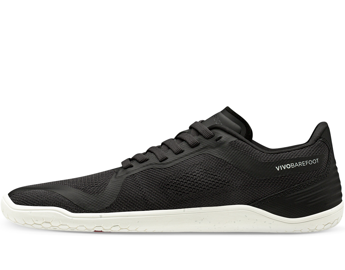 Vivobarefoot GEO RACER M OBSIDIAN/WHITE Textile ()
