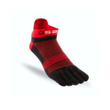 OS20 ponožky RUN BLACK/RED