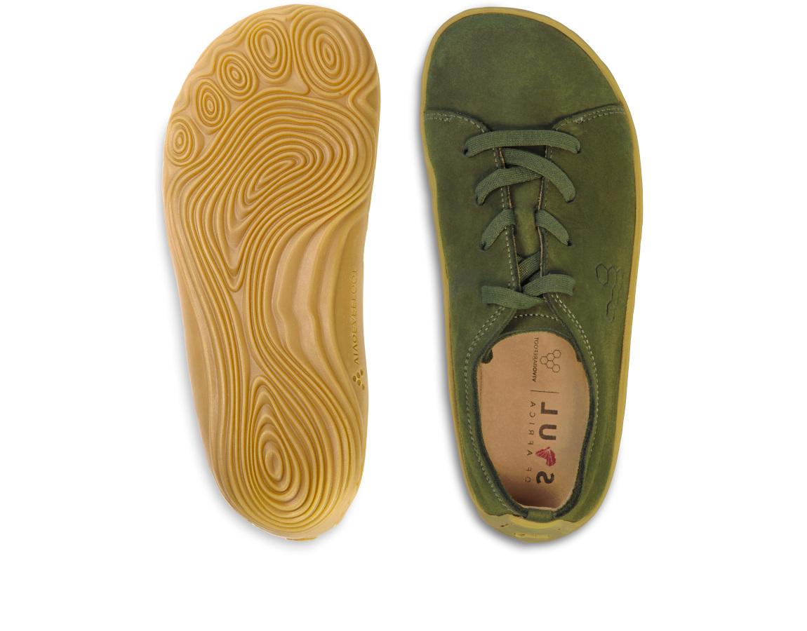 Vivobarefoot ADDIS JNR BOTANICAL GREEN ()