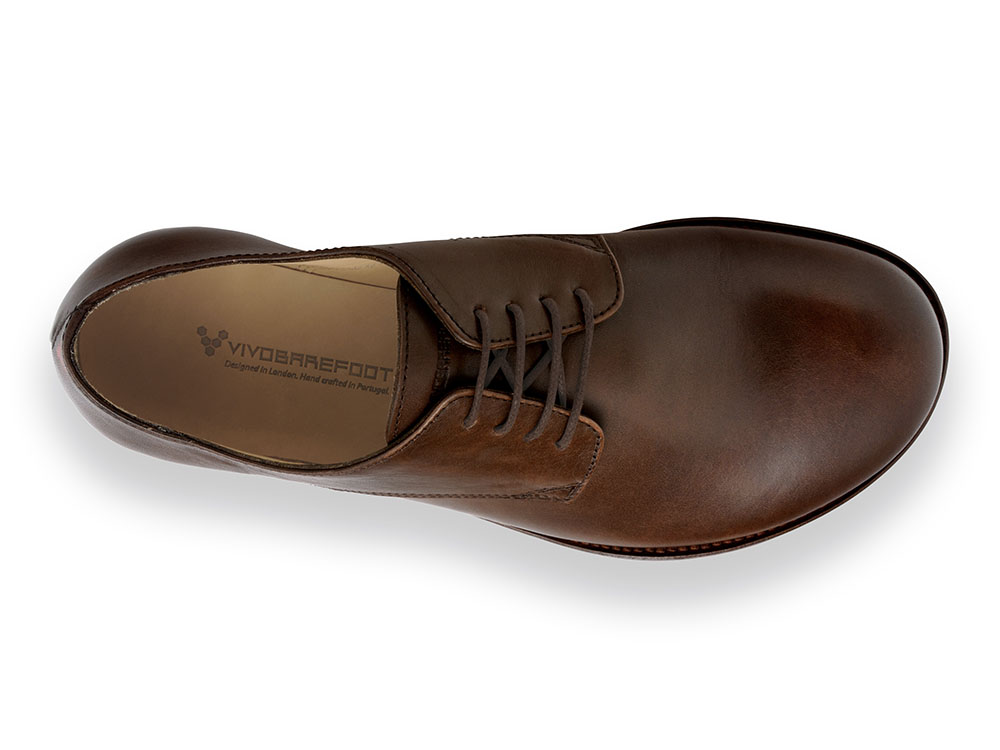 Vivobarefoot LISBON M Leather Dk Brown ()