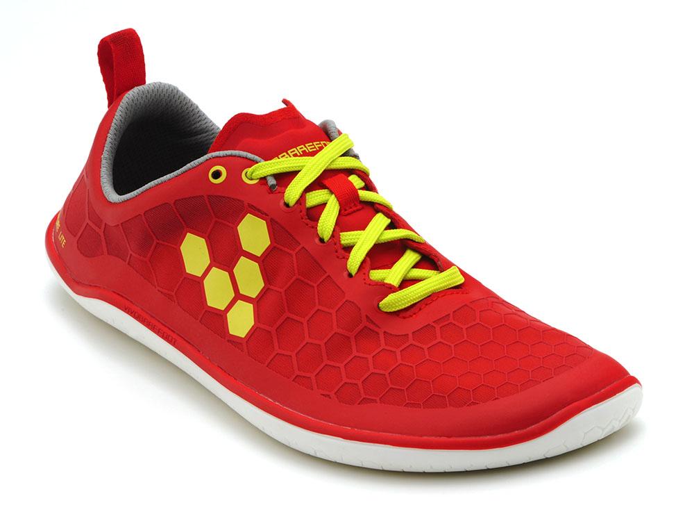 bdc7703cc01e2 Pánske topánky pre bosé behanie - Vivobarefoot EVO PURE M RED