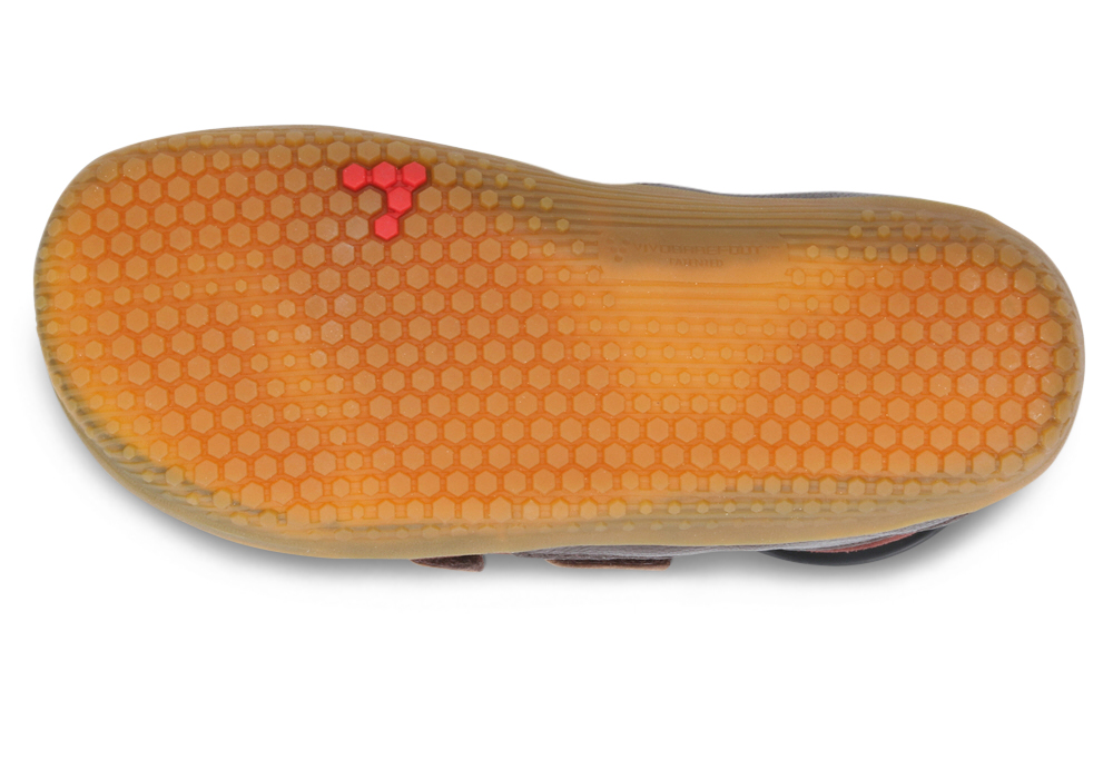 Vivobarefoot  RENO K Leather Brown ()