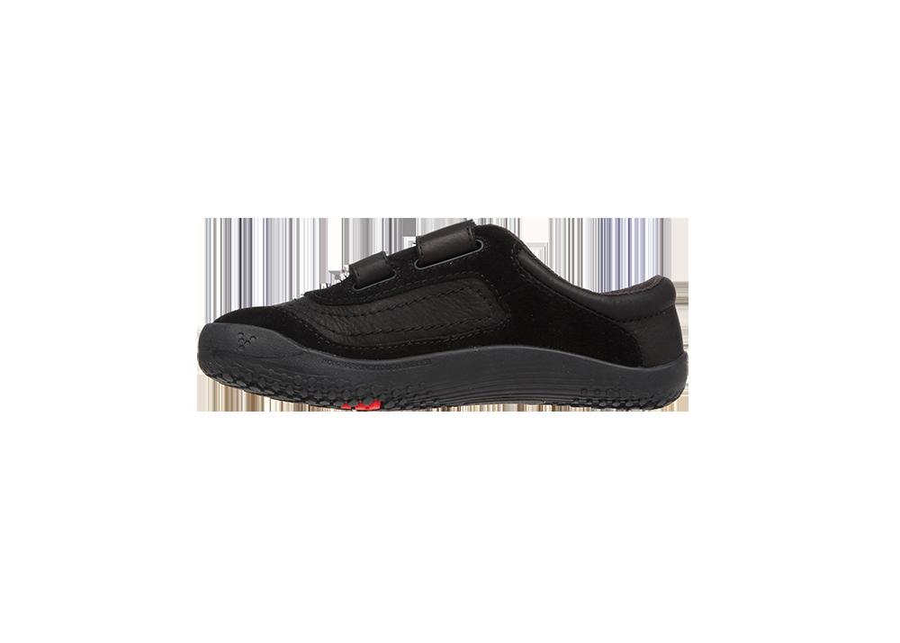 Vivobarefoot  RENO K Leather Black/Hide ()