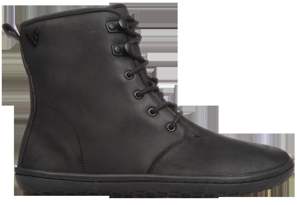 Vivobarefoot  GOBI HI TOP L Leather Black