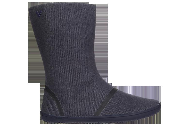 953f90669 Dámske zimné barefoot topánky - Vivobarefoot TABI HI L Canvas Navy