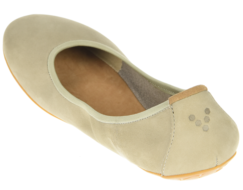 Vivobarefoot  JING JING  Leather Cobblestone ()