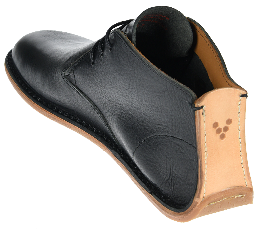 Vivobarefoot  PORTO ROCKER HIGH L Leather Black ()