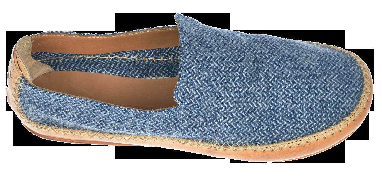 Vivobarefoot OPANKA SLIP M LCC Blue Wool ()