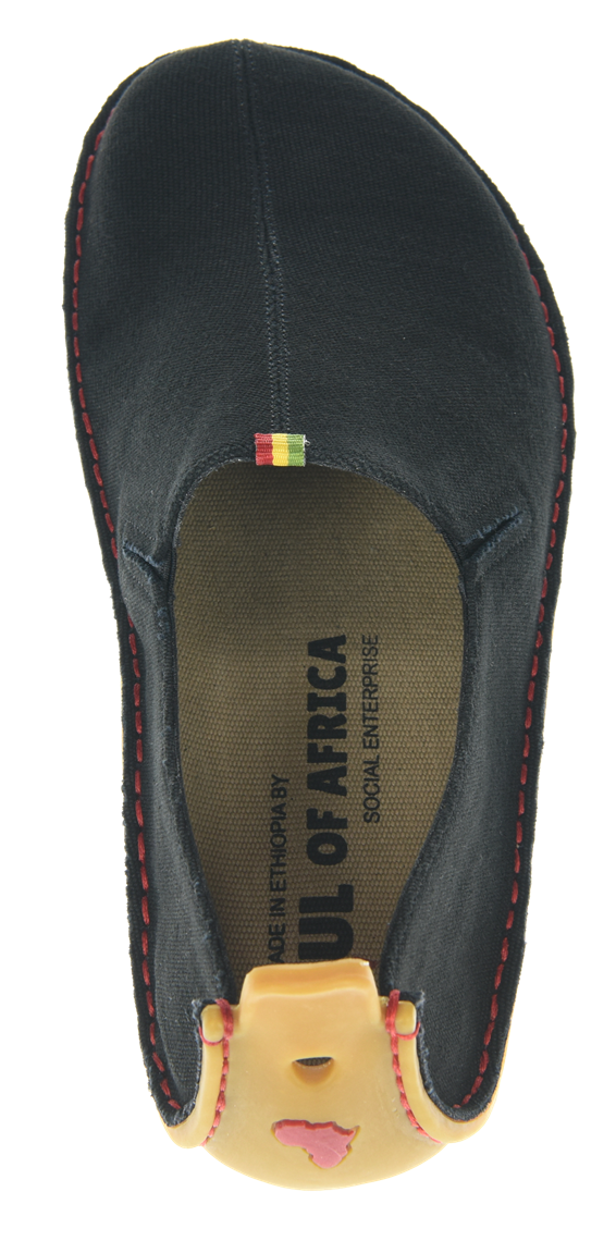 Vivobarefoot ABABA L Canvas Black ()