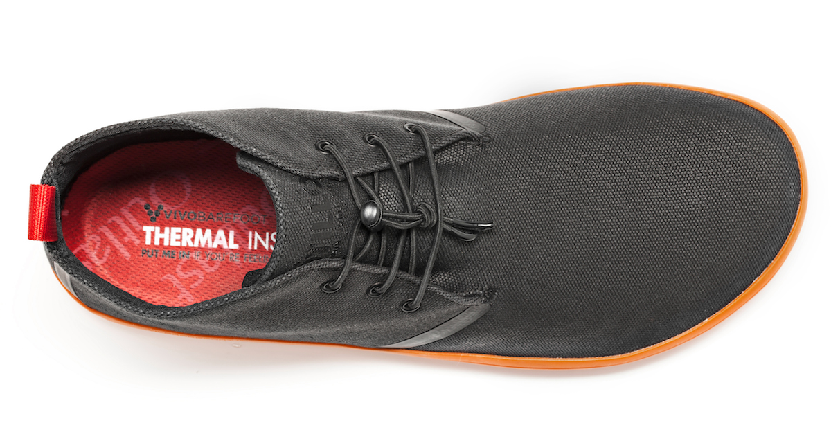 Vivobarefoot GOBI II M Canvas SWR Black/Orange ()