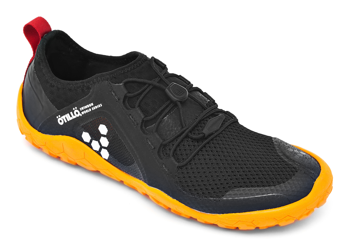 Vivobarefoot PRIMUS SWIMRUN FG L Mesh Black/Orange ()