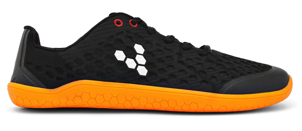 Vivobarefoot STEALTH 2 L BR Black/Orange W ()