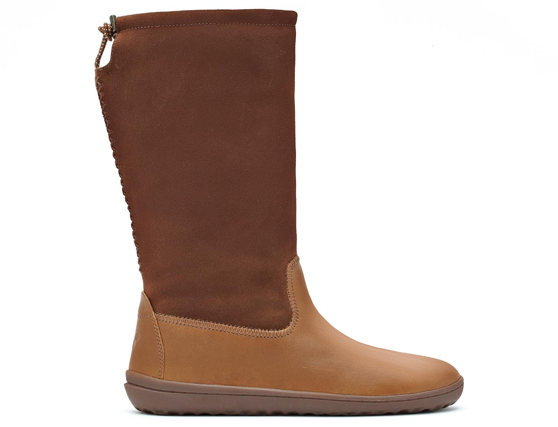 Vivobarefoot NAKOMA L Leather Chestnut ()