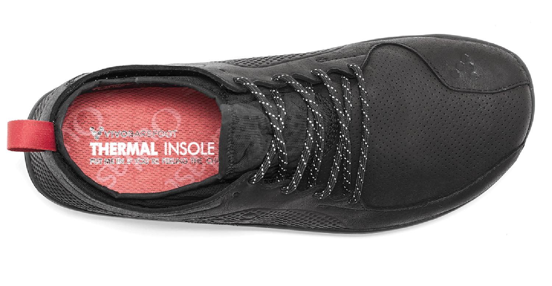 4de08ab929706 Čierne kožené topánky - pánske - Vivobarefoot PRIMUS LUX WP M Leather Black