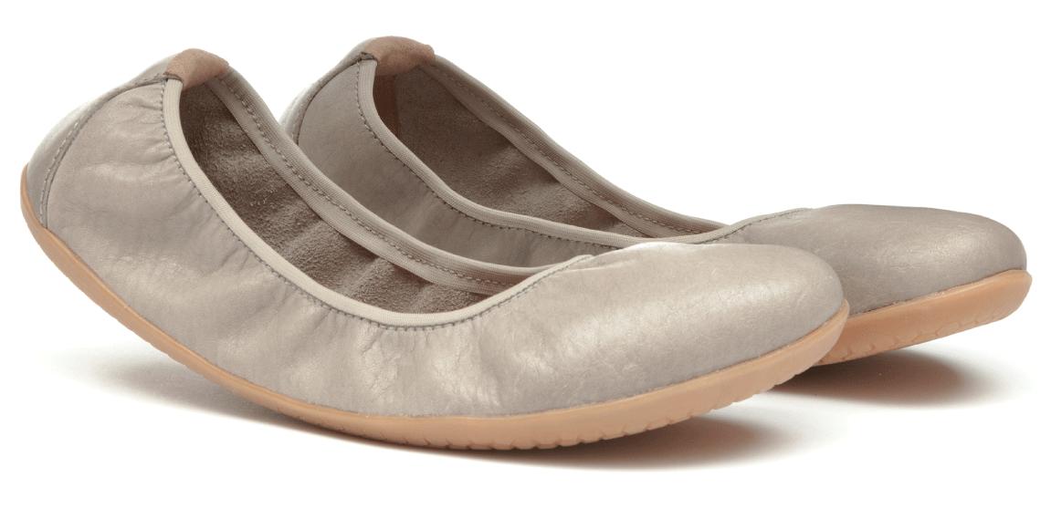 Vivobarefoot JING JING 2 L Leather Cobblestone ()