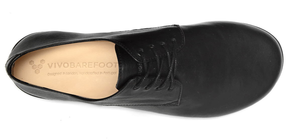 Vivobarefoot LISBON L Leather All Black ()