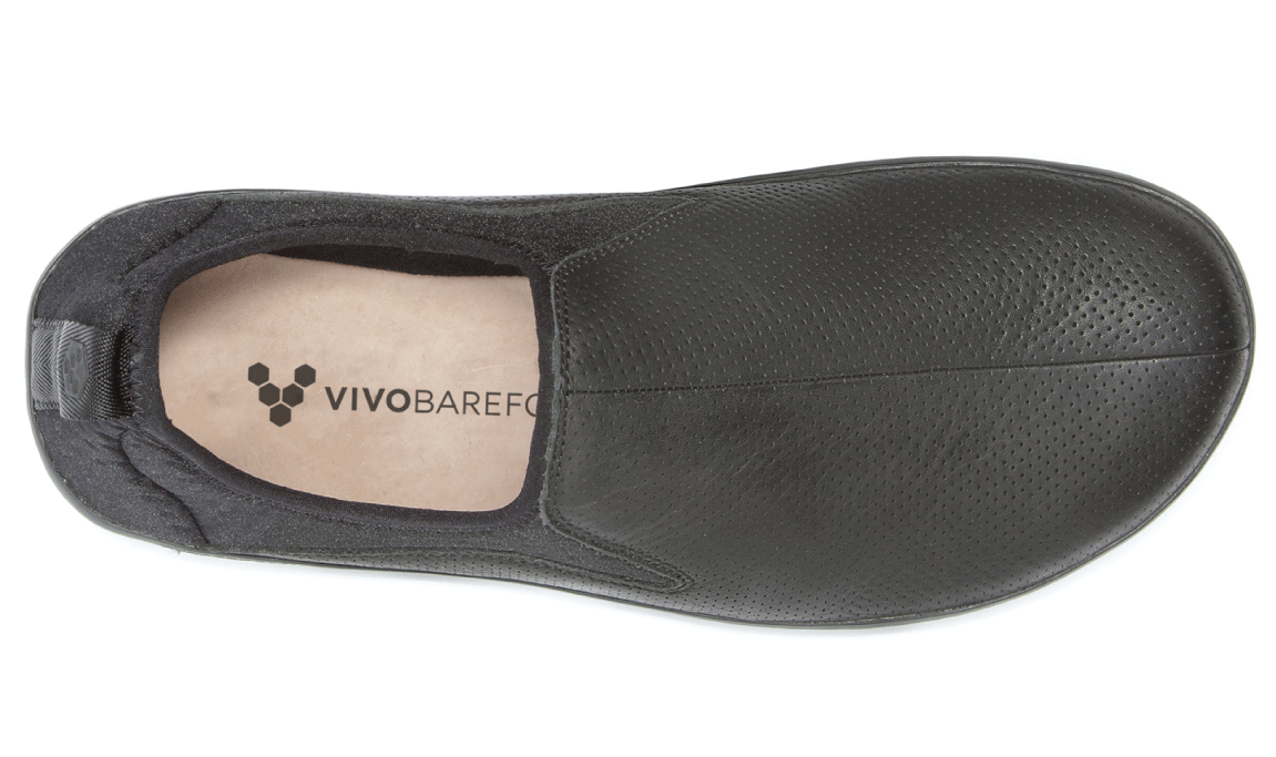 Vivobarefoot SLYDE M Leather Black ()