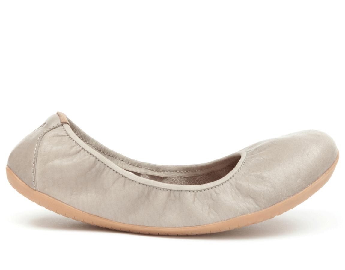 Balerínky - barefoot - Vivobarefoot JING JING 2 L Leather Cobblestone 2531cbe34c1