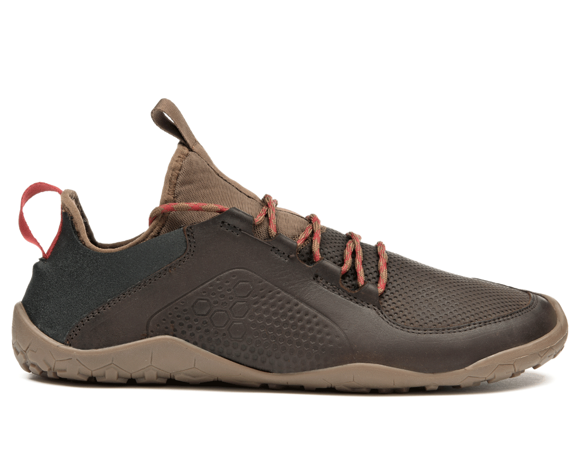 Vivobarefoot PRIMUS TREK L Leather Dk Brown ()