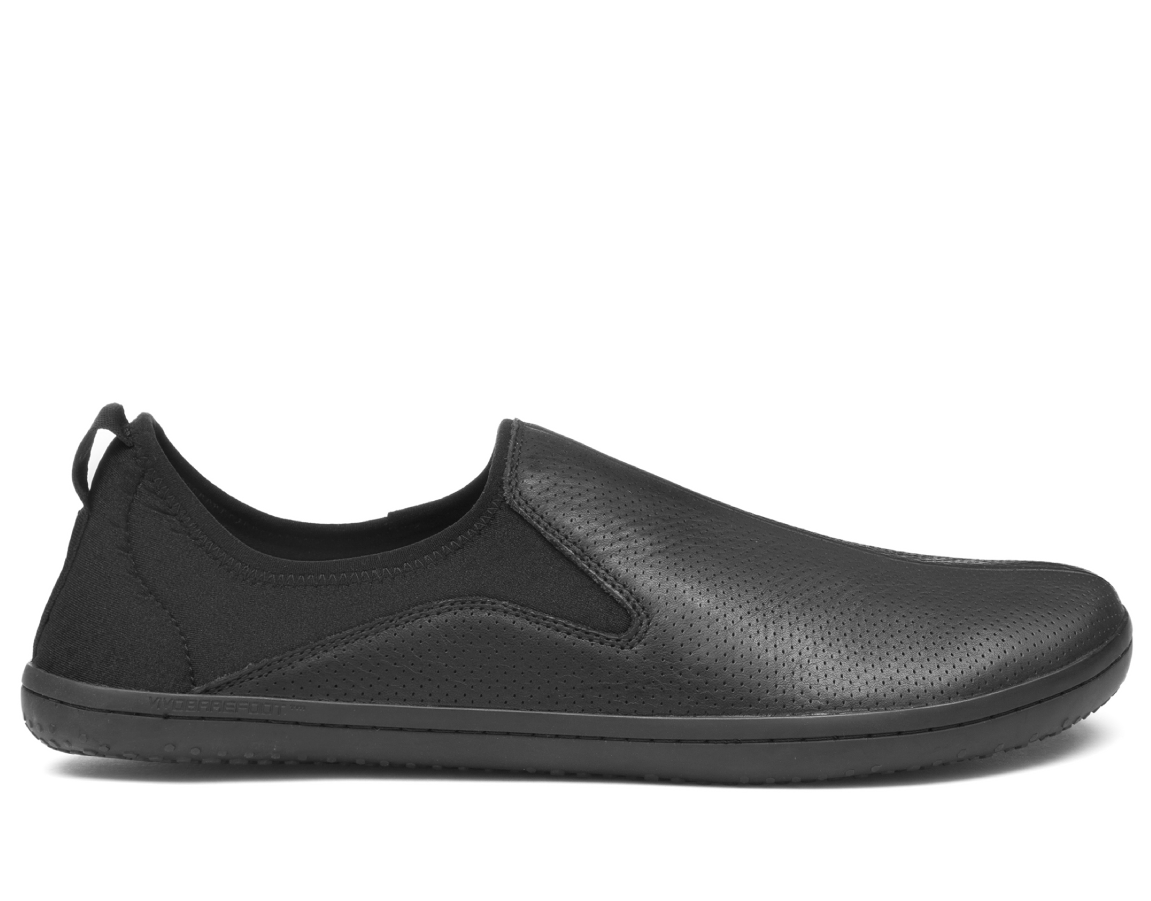 Vivobarefoot SLYDE L Leather Black ()