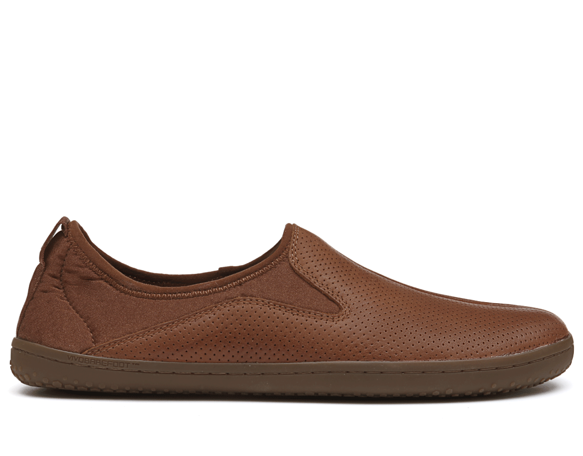 Vivobarefoot SLYDE M Leather Tobacco ()