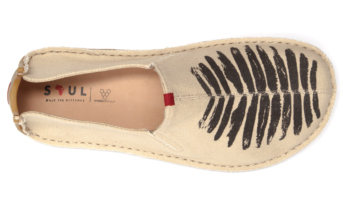 Vivobarefoot ABABA L Canvas Birdie Natural ()