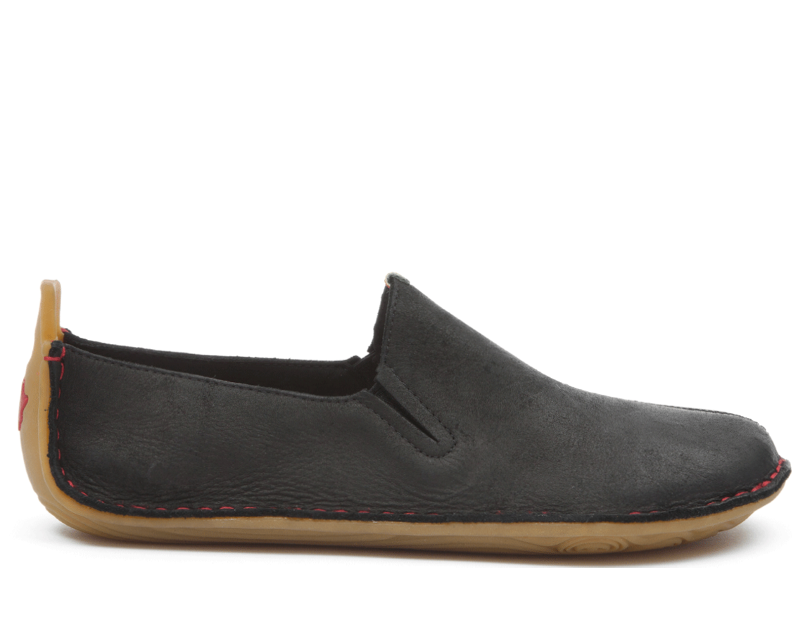 Vivobarefoot ABABA L Leather Black ()
