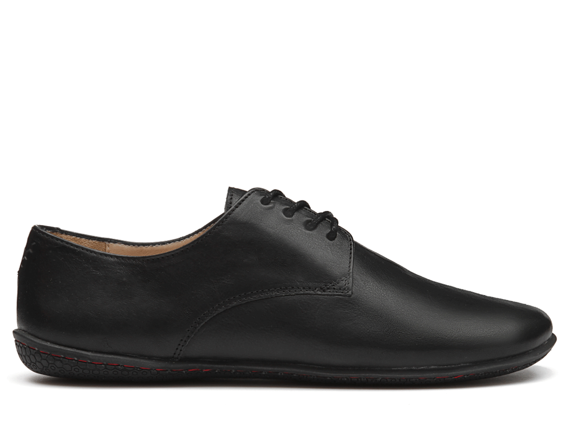 Vivobarefoot LISBON L Leather All Black
