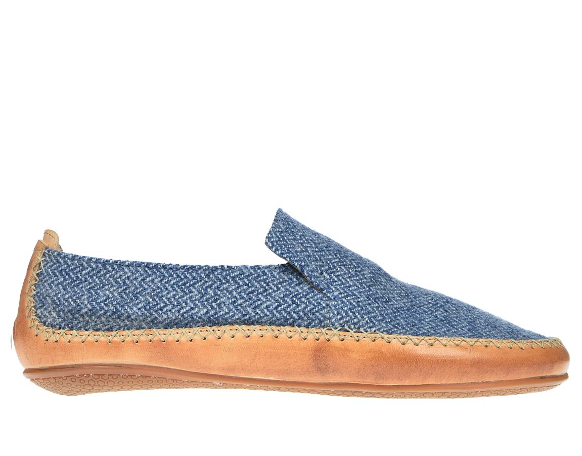Vivobarefoot OPANKA SLIP M LCC Blue Wool