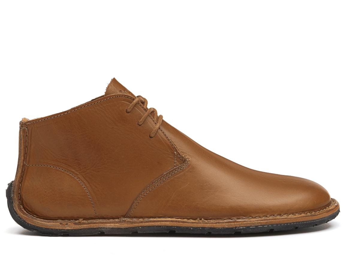 381b6cdb97 Dámské ručne šité topánky - Vivobarefoot PORTO ROCKER HIGH L TY Leather Tan
