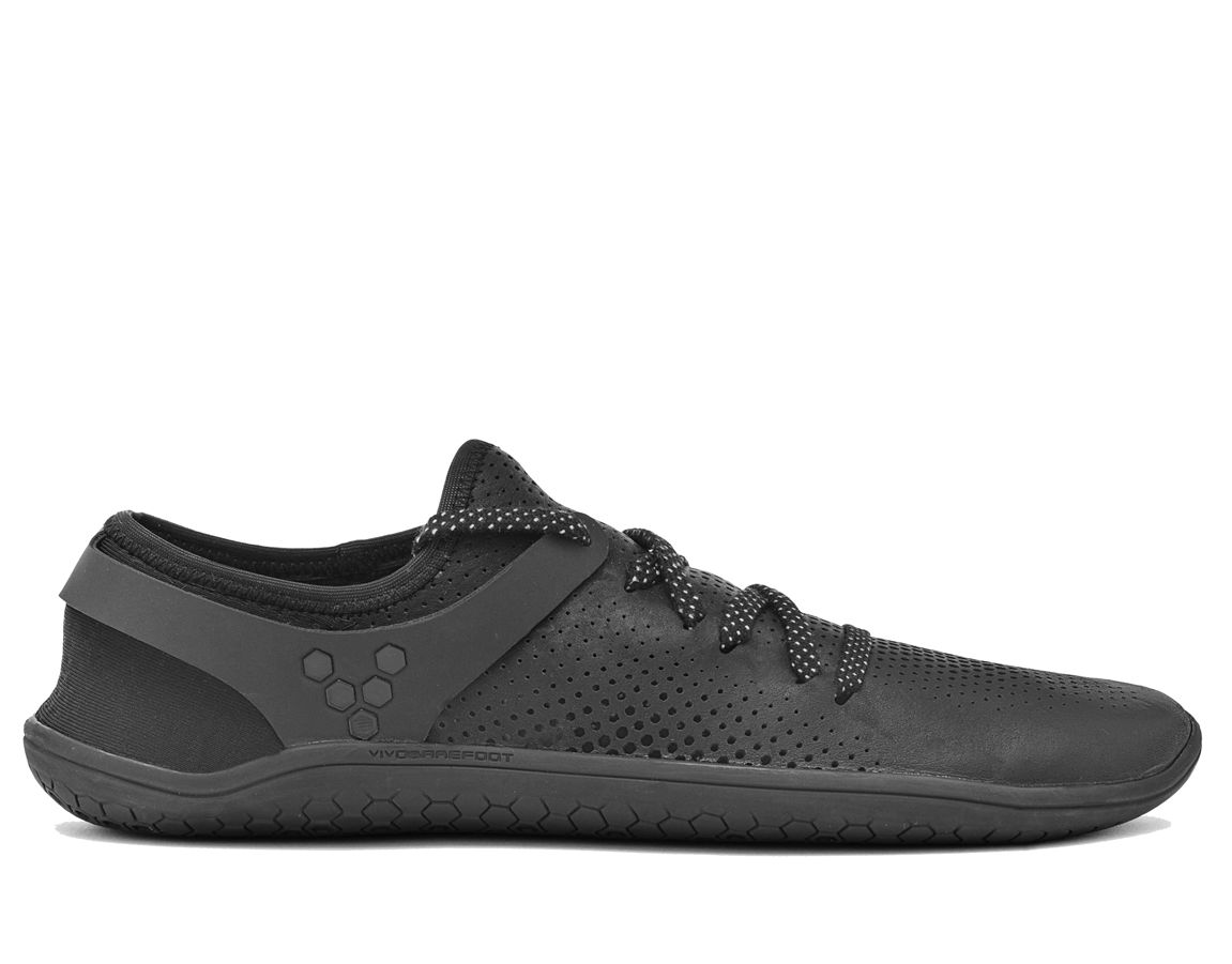 Vivobarefoot  WING LUX L Leather Black ()