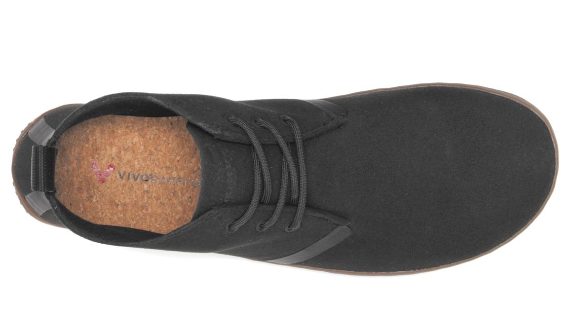 Vivobarefoot  GOBI II M Eco Suede Black ()