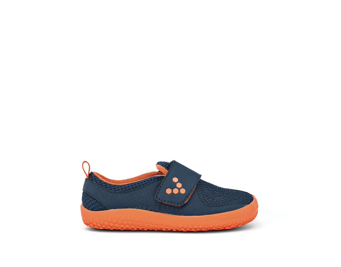 Vivobarefoot PRIMUS KIDS K Navy/Orange