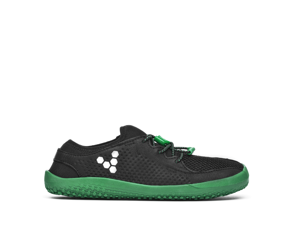 Vivobarefoot PRIMUS K Mesh Black/Green