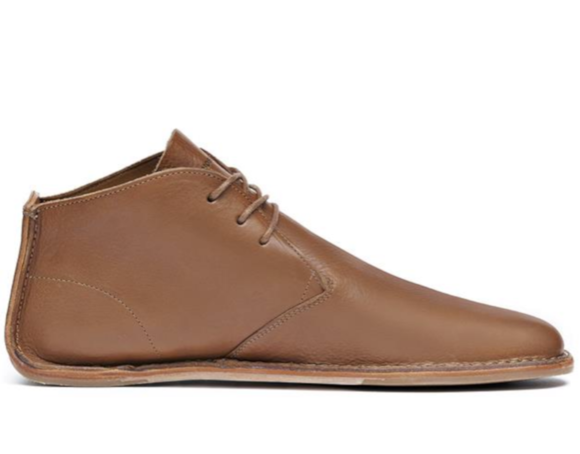 3c602e5c6c Pánske ručne šité topánky - Vivobarefoot PORTO ROCKER HIGH M Leather Tan