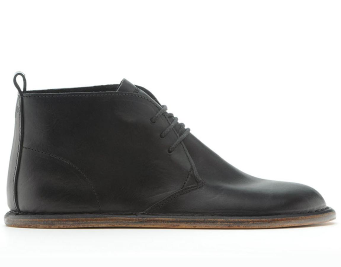 Vivobarefoot PORTO L Leather Black ()