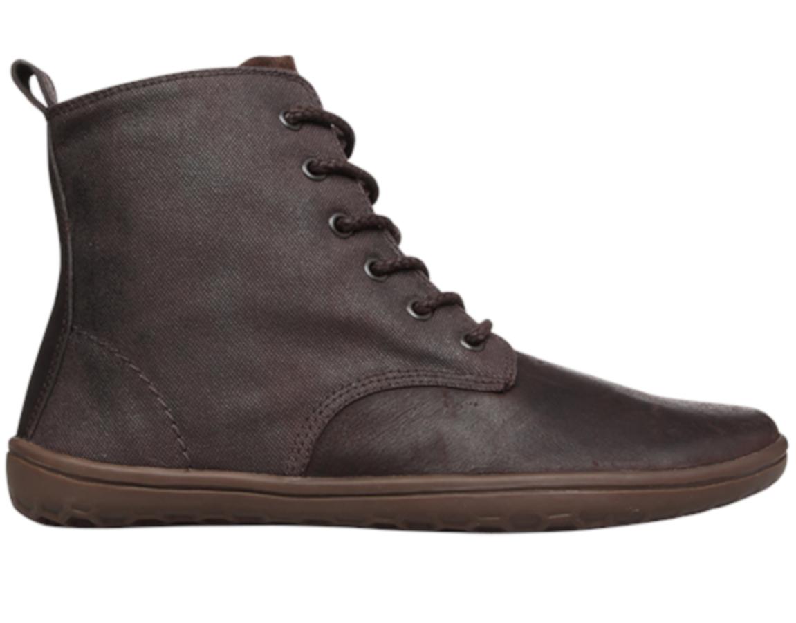 Vivobarefoot  SCOTT M Leather Dk Brown