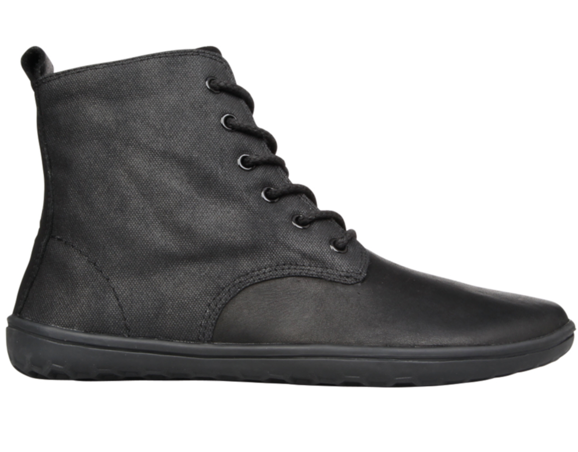 Vivobarefoot  SCOTT M Leather Black