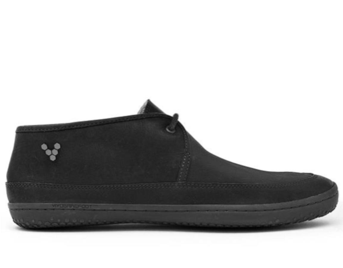 Kotníkové čižmy - bez opätku - Vivobarefoot GIA L Leather Black aa4d8b8ba66