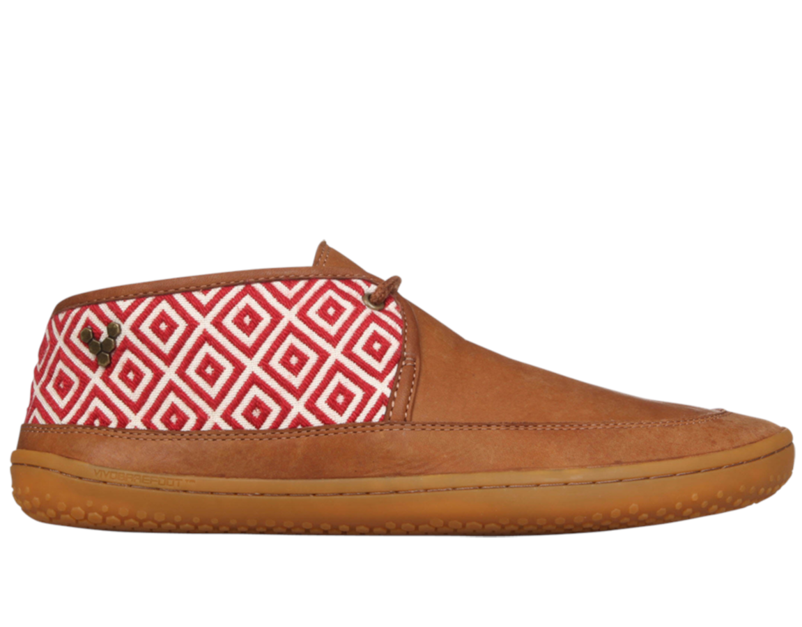 Vivobarefoot  GIA L Leather Chestnut/Hide ()