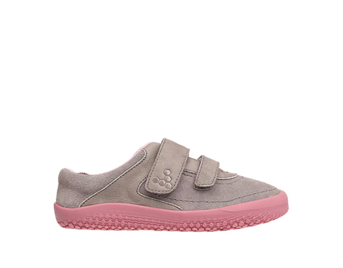 Detské barefoot topánky - Vivobarefoot RENO K Leather Cinder e99000f4e41