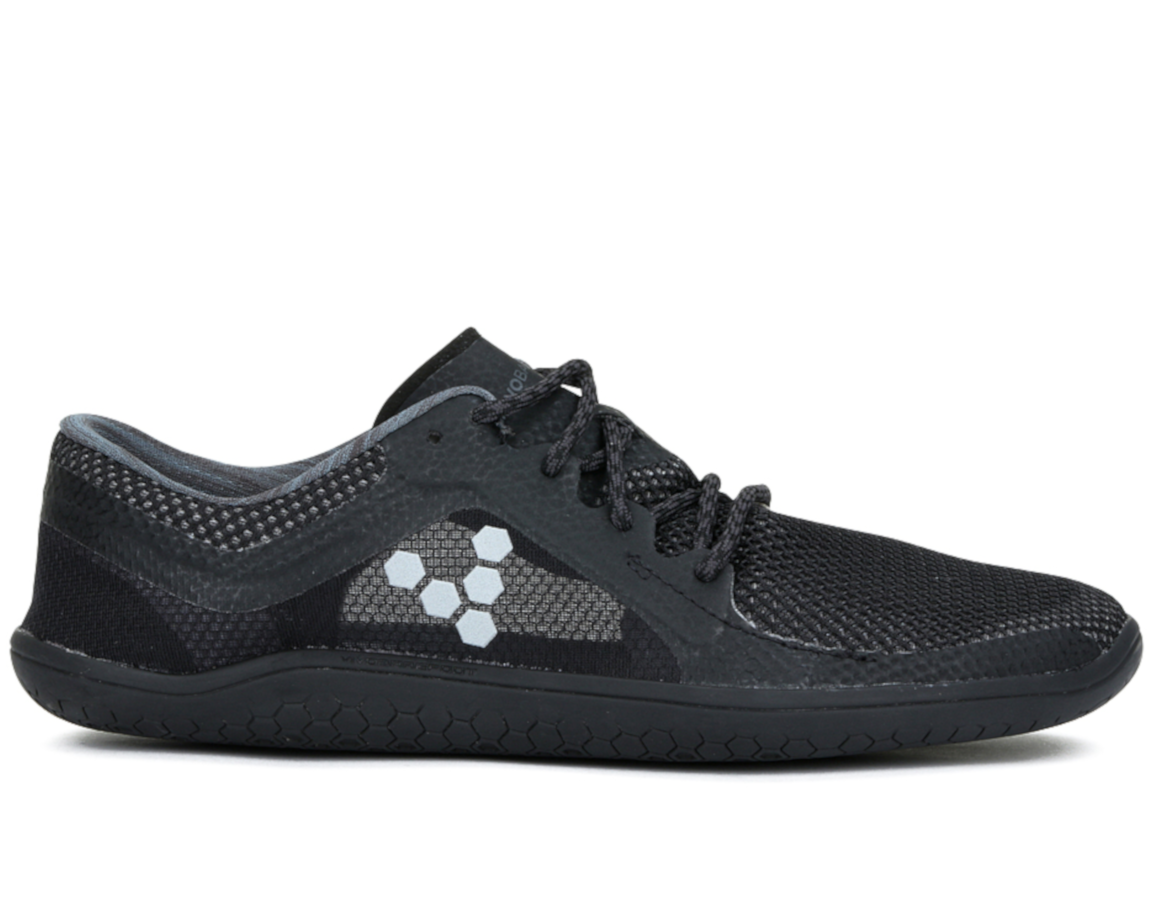 Topánky na behanie - dámske - Vivobarefoot PRIMUS LITE L Black Charcoal 7a3d959e8e1