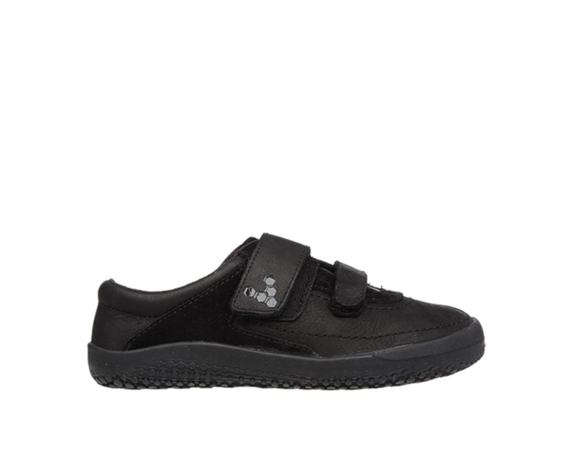 Vivobarefoot  RENO K Leather Black/Hide