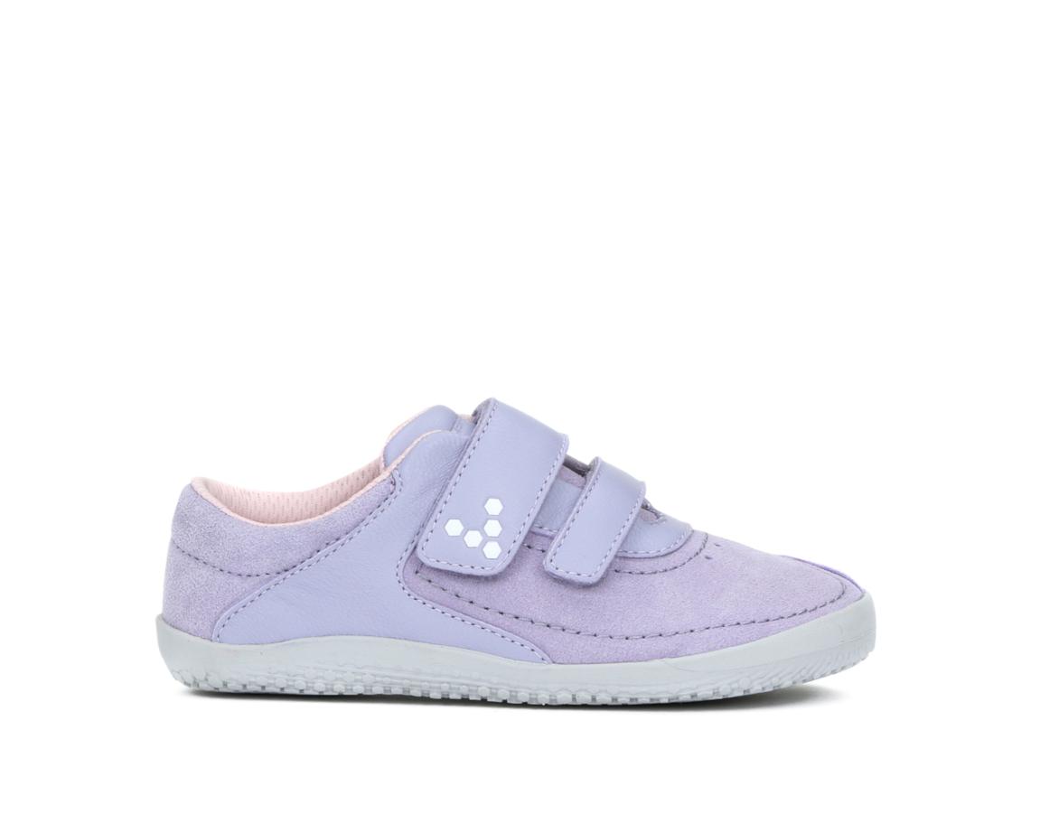 Detské topánočky - Vivobarefoot RENO K Leather Violet b2cfb4a240