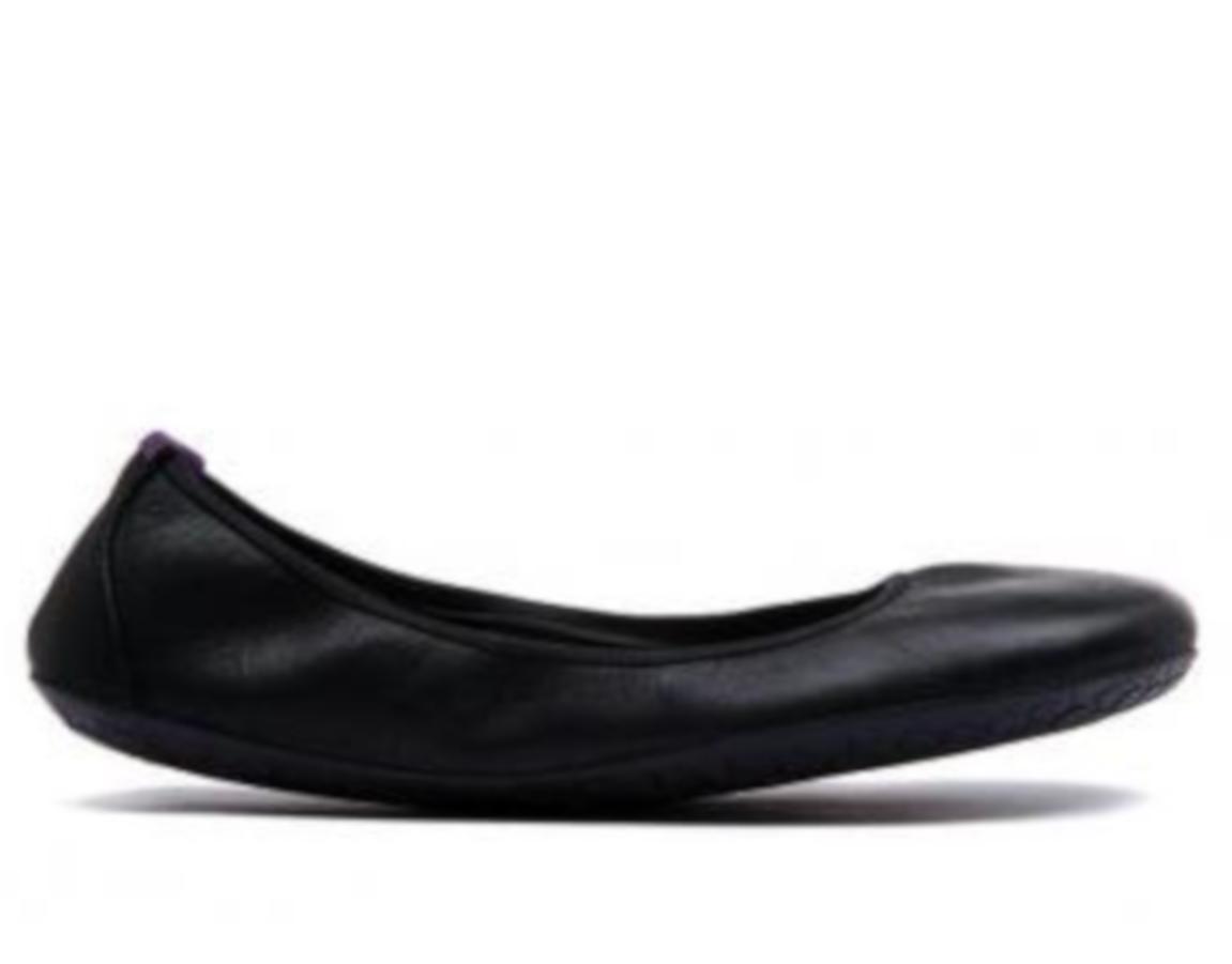 Vivobarefoot  JING JING  Leather Black/Hide ()