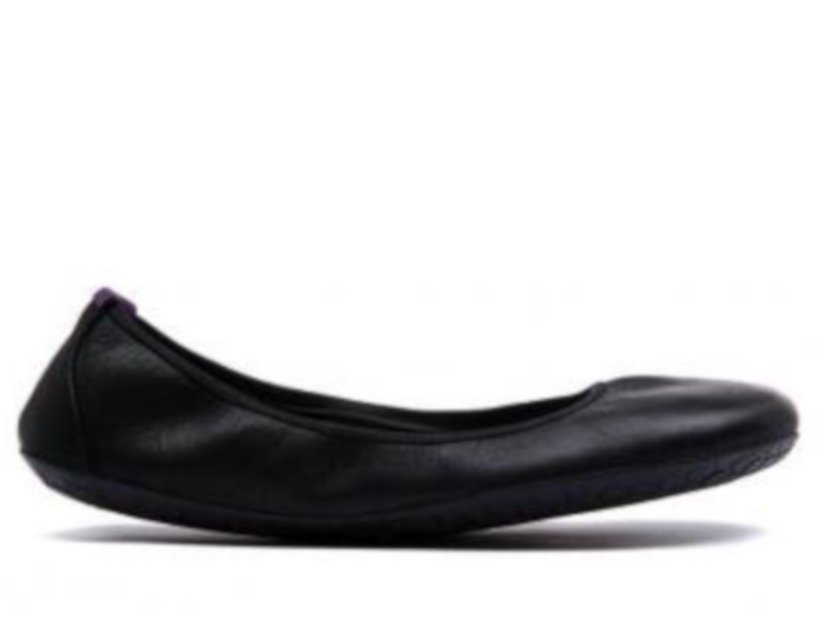 Vivobarefoot  JING JING  Leather Black/Hide