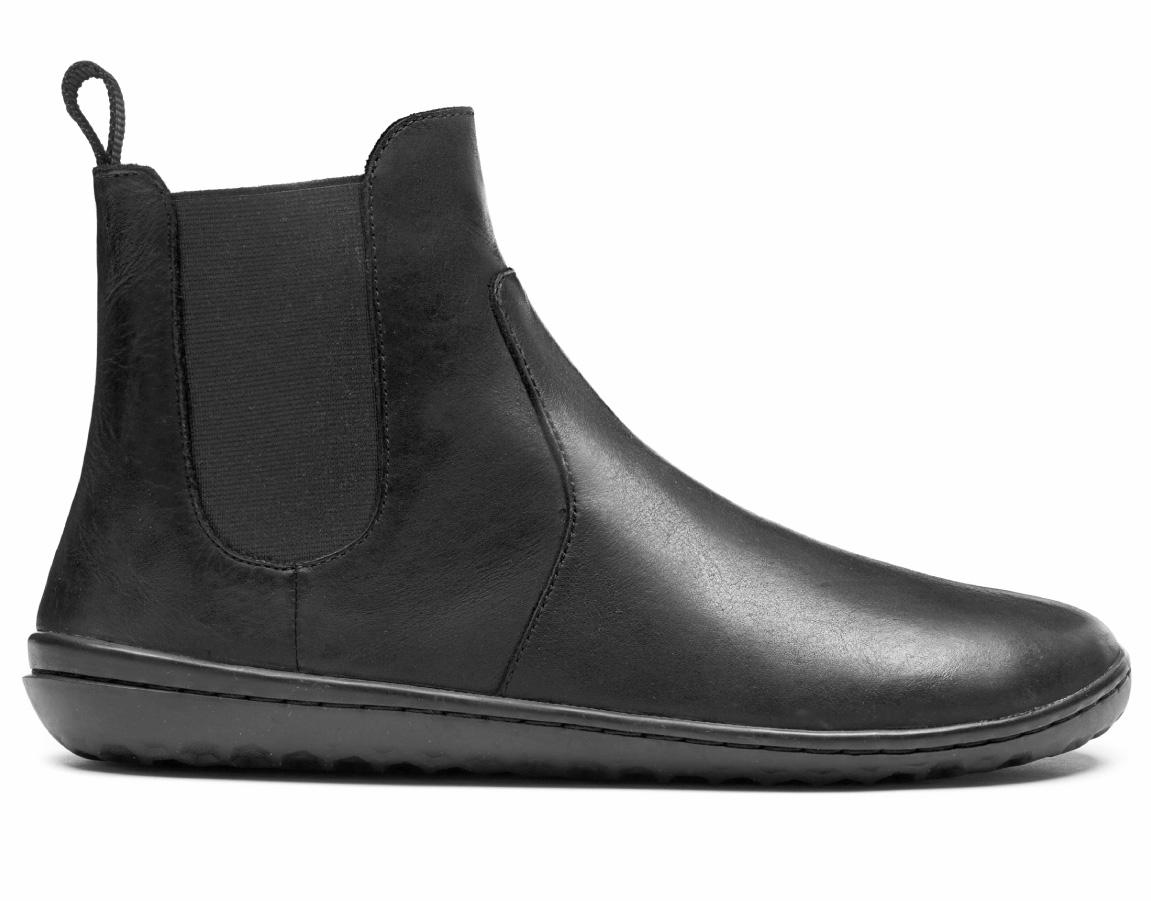 Zimné čižmy - barefoot - Vivobarefoot FULHAM L Leather Black e8e89221c90