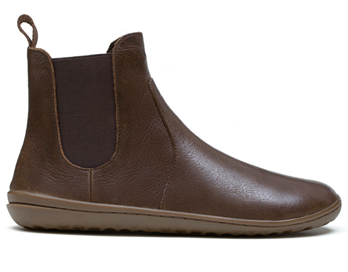 Vivobarefoot FULHAM M Leather Brown ()