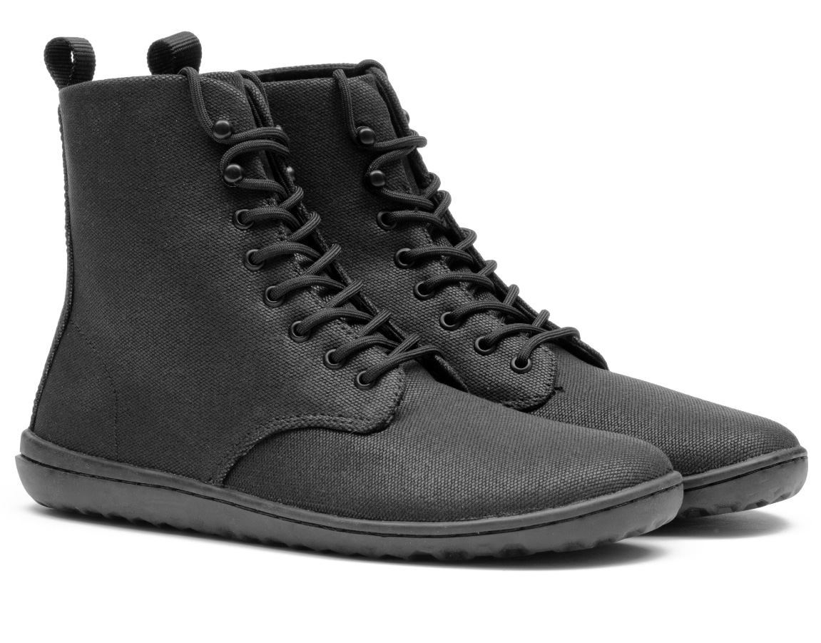 Vivobarefoot GOBI HI 2.0 L Eco Canvas Black ()
