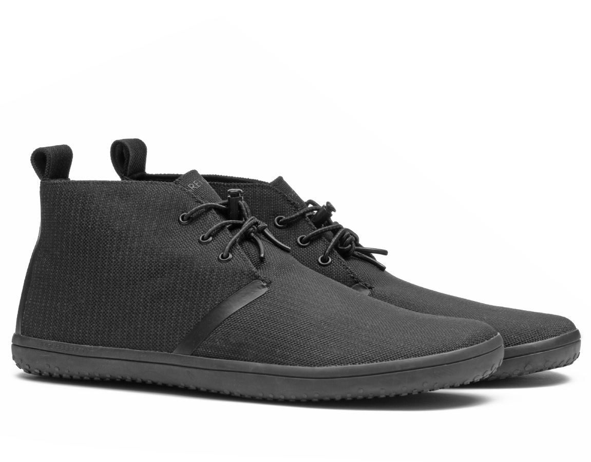 Vivobarefoot GOBI II CANVAS M Black ()